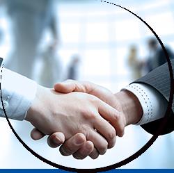 与大型企业长期合作